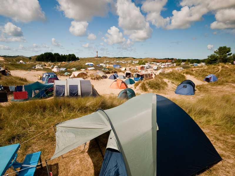 Camping an der Nordsee
