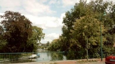 Petkum, idyllisch am Wasser gelegen