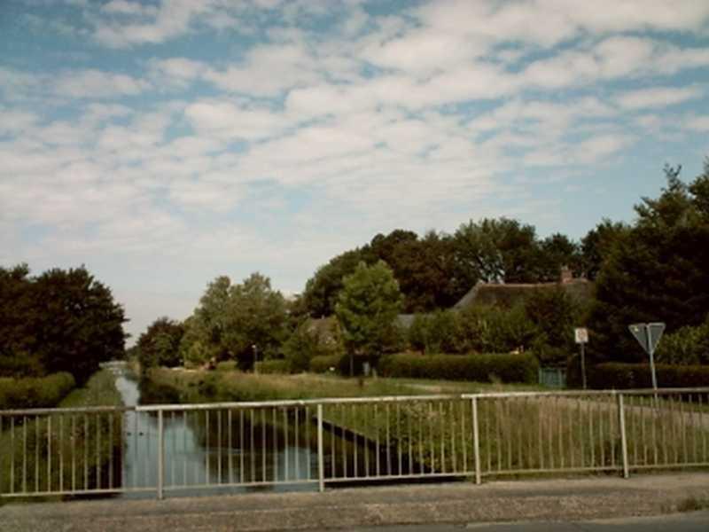 Der Ringkanal in Westerende-Kirchloog