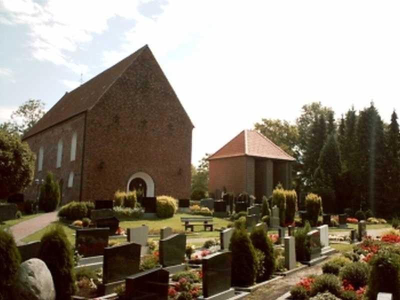 Die Kirche in Westerende-Kirchloog